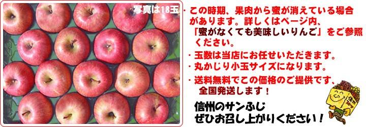 りんごの定番!! サンふじ企画