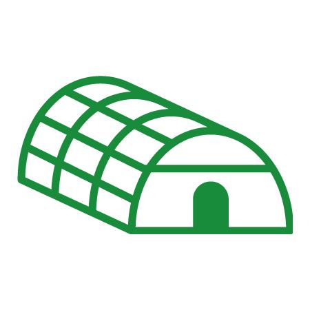 農業、ビニールハウス