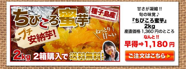ちびころ蜜芋1,180円