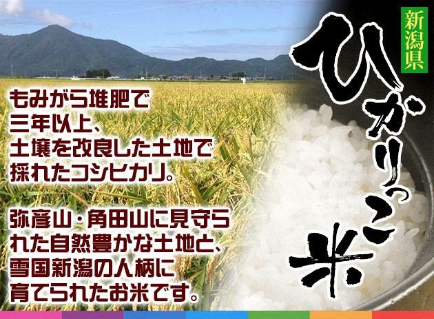 もみがら堆肥で三年以上、土壌を改良した土地で採れたコシヒカリ。