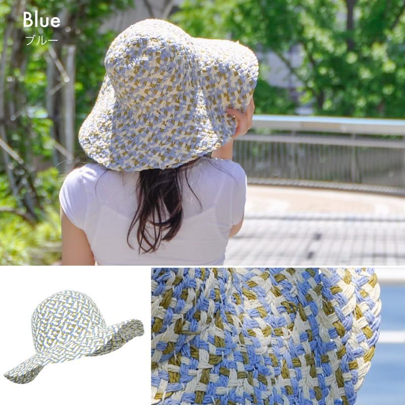 麦わら帽子 UVカット レディース 大きいサイズ 夏 つば広 麦わら UV対策 日焼け対策 ストローハット 麦わら帽子 紫外線対策