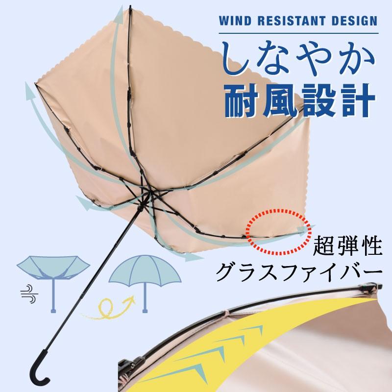 日傘 軽量 折りたたみ 晴雨兼用