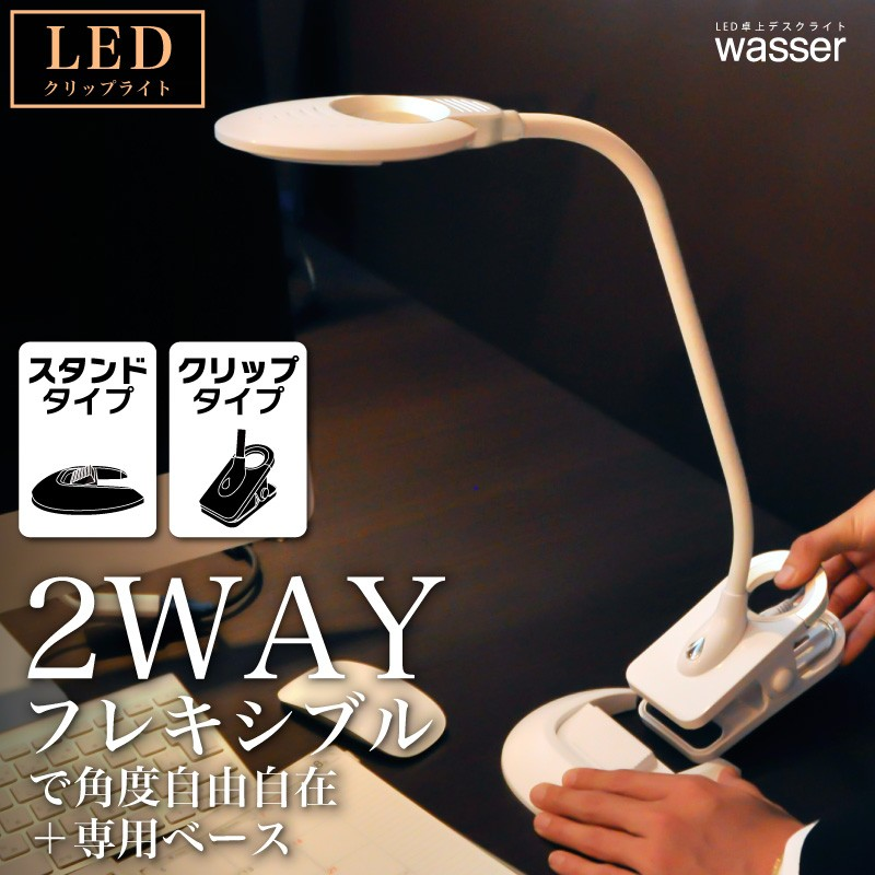 wasser15 LEDクリップライト