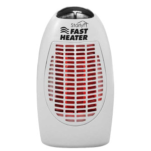スターライフ ファストヒーター‐小型ヒーター ポータブルヒーター コンパクト暖房 ミニヒーター  タイマー付き 温度設定可 イーチャンス|kurazo|10