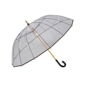 かてーる16桜 手開き長傘(収納用袋付)16本骨‐ホワイトローズ社 カテール16 最高級透明傘 丈夫なビニール傘 風に強い 軽量|kurazo|11