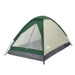 組立式 2人用 ドーム型テント Momtagna-収納袋付き テント 組立簡単 工具不要 軽量 メッシュ扉 サンシェード 日除け コンパクト ワイド空間 モンタナ ハック|kurazo|08