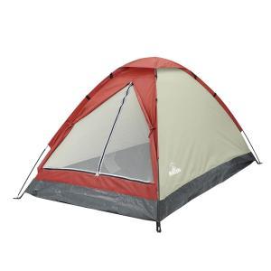 組立式 2人用 ドーム型テント Momtagna-収納袋付き テント 組立簡単 工具不要 軽量 メッシュ扉 サンシェード 日除け コンパクト ワイド空間 モンタナ ハック|kurazo|07