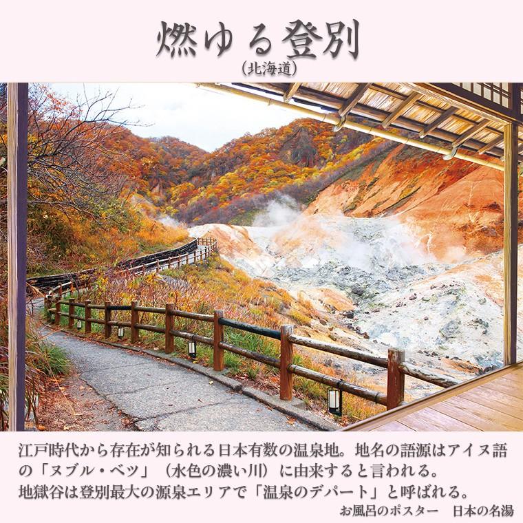 お風呂のポスター 登別温泉