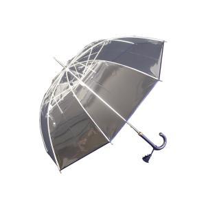 縁結(えんゆう) 手開き長傘(収納用袋付)8本骨‐ホワイトローズ社 園遊会特別仕様 最高級透明傘 丈夫なビニール傘 風に強い 軽量|kurazo|09