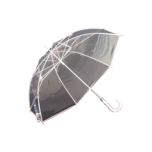 縁結(えんゆう) 手開き長傘(収納用袋付)8本骨‐ホワイトローズ社 園遊会特別仕様 最高級透明傘 丈夫なビニール傘 風に強い 軽量|kurazo|08