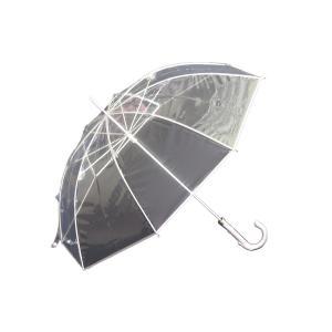 縁結(えんゆう) 手開き長傘(収納用袋付)8本骨‐ホワイトローズ社 園遊会特別仕様 最高級透明傘 丈夫なビニール傘 風に強い 軽量|kurazo|11