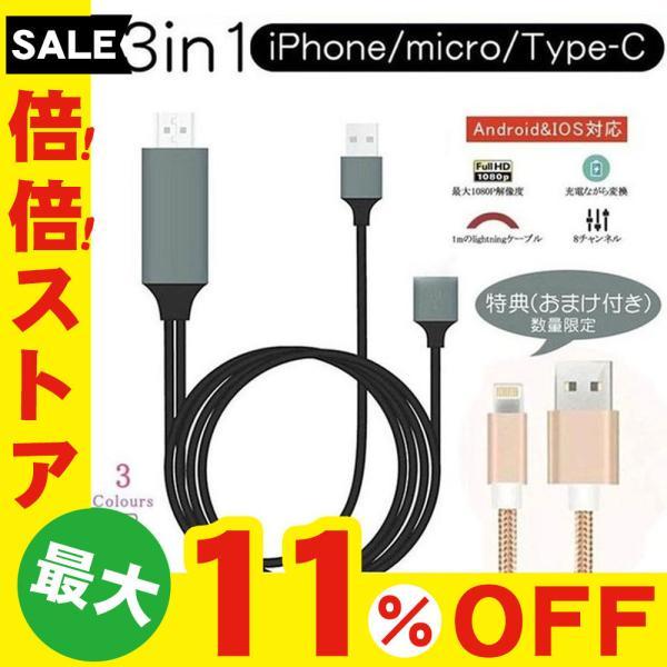 Lightning  HDMI 変換ケーブル Lightning Digital AV to HDMI 1080Pアダプタ iphone 映像出力ケーブル 設定不要 音声同期出力|kuri-store|23