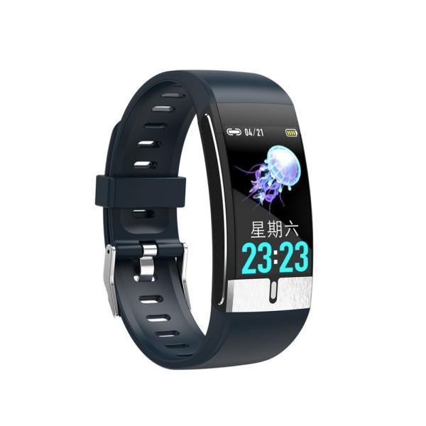 スマートウォッチ 体温監視 心電図 血圧/心拍/歩数 IP68防水 line対応 睡眠検測 着信電話通知 天気予報 HD大画面 急速充電|kuri-store|23