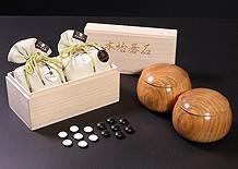碁石+碁笥 囲碁2点セットコーナ