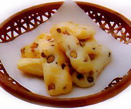 丹波やき黒豆おかき(やわらかサラダ)