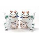 九谷焼-獅子 kutani ornament si