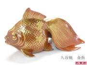 九谷焼【金魚】