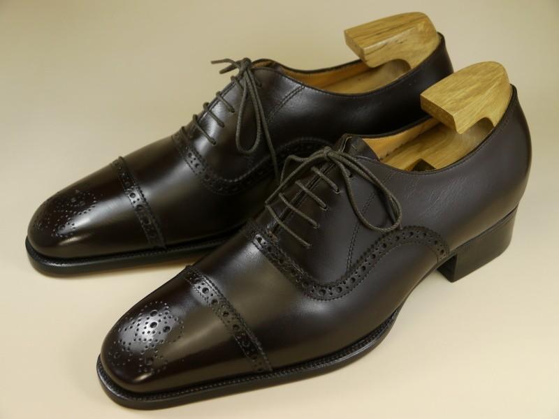 KK-001・新品の靴木型・ラスト・メンズ用ロングノースラストで底面に鉄板がないハンドソーンウェルテッド製法に適した靴木型