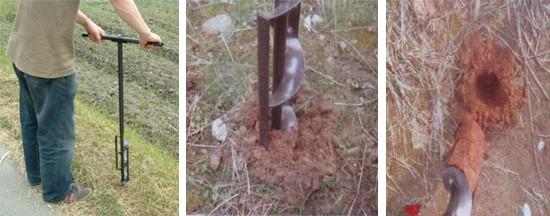 かんたん穴掘り器