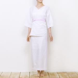 (肌着2点(上肌着/裾よけ))女性用 肌襦袢 裾除け 二部式 着付けセット 礼装用 婚礼 花嫁|京越卸屋 PayPayモール店