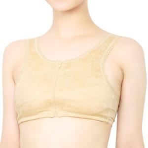 (和装ブラジャー)和装ブラ 補正下着 女性 肌着 フロントファスナー 着物 パット付き レディース (zr)|京越卸屋 PayPayモール店