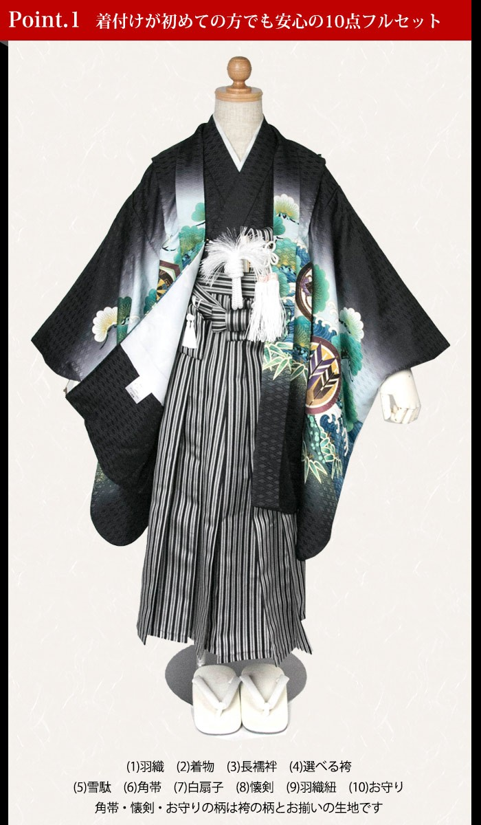 1.羽織着物