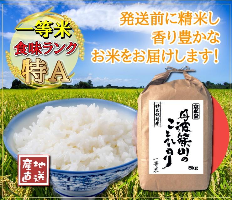 食味ランキング特A産地直送発送前に精米し香り豊かなお米をお届けします!