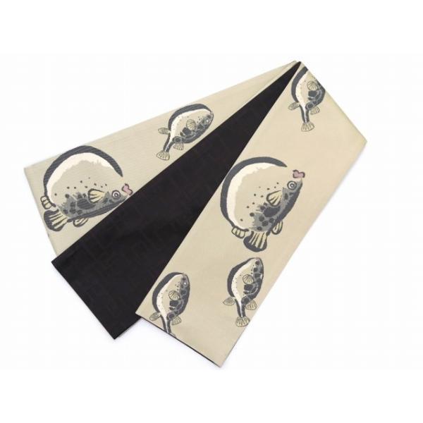 半幅帯 正絹 リバーシブル 長尺 おりびと ブランド 和柄の半幅帯 選べる柄 HHOb kyoto-muromachi-st 13