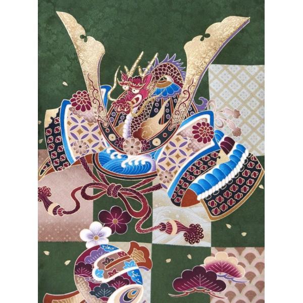 お宮参り 着物 男の子 赤ちゃんのお祝い着 産着 初着 正絹 選べる色柄 IBU02|kyoto-muromachi-st|13