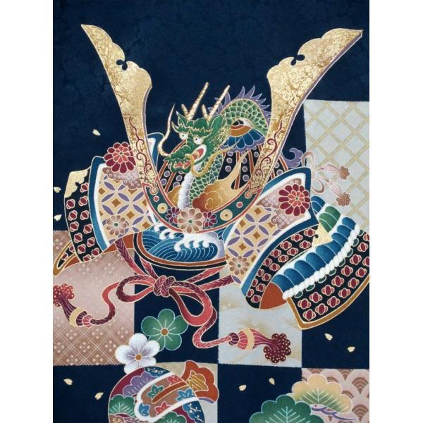 お宮参り 着物 男の子 赤ちゃんのお祝い着 産着 初着 正絹 選べる色柄 IBU02|kyoto-muromachi-st|14