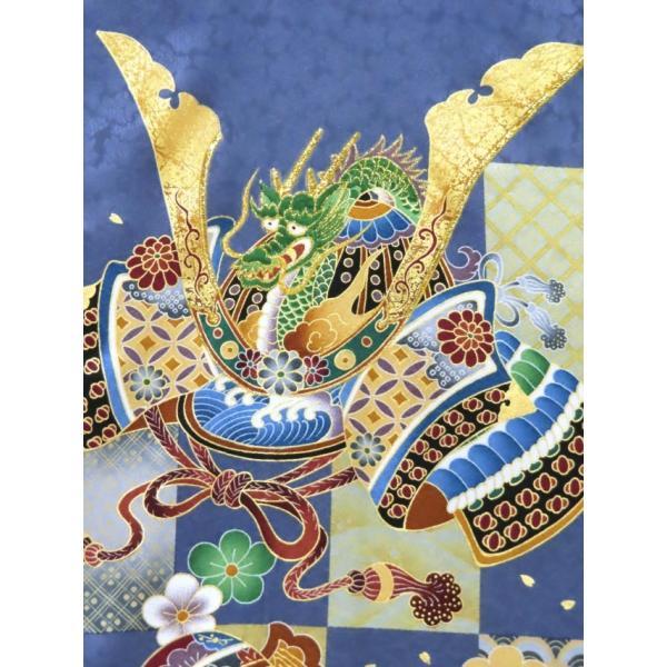 お宮参り 着物 男の子 赤ちゃんのお祝い着 産着 初着 正絹 選べる色柄 IBU02|kyoto-muromachi-st|16