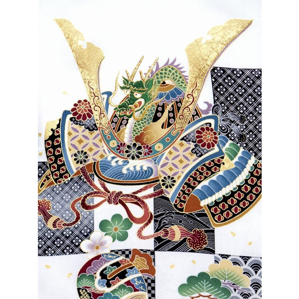 お宮参り 着物 男の子 赤ちゃんのお祝い着 産着 初着 正絹 選べる色柄 IBU02|kyoto-muromachi-st|15