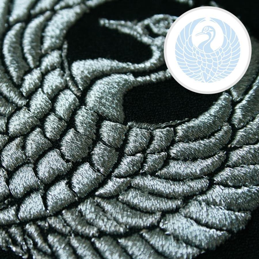 送料無料 インテリア刺繍額 彩-irodori- 動物 日本柄 和柄 刺繍 色糸刺繍 お守りに 還暦祝い/結婚祝い/贈り物/特別な贈り物に kyoto-sankyo 20