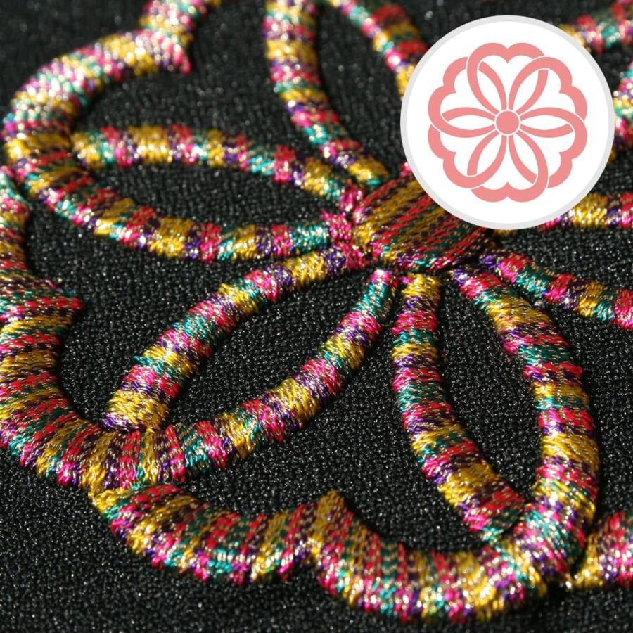 送料無料 インテリア刺繍額 彩-irodori- 植物 日本柄 和柄 刺繍 色糸刺繍 お守りに 還暦祝い/結婚祝い/贈り物/特別な贈り物に|kyoto-sankyo|16
