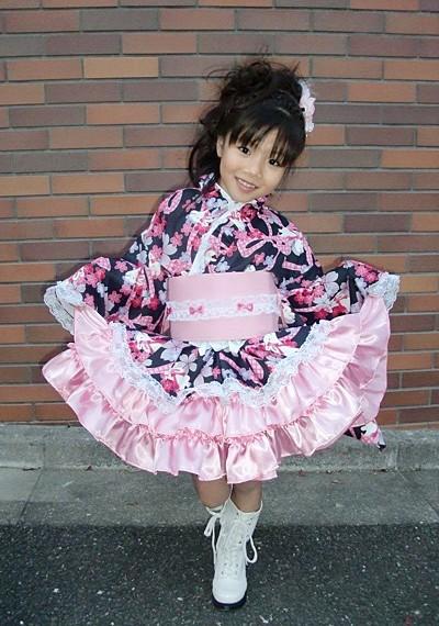 七五三 着物ドレス お写真