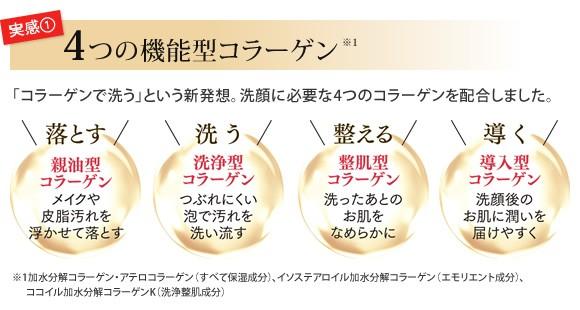 4つの機能型コラーゲン