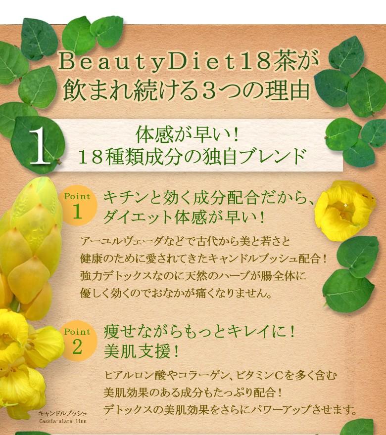 ナチュラルシー BeautyDiet18茶 デトックスティー07