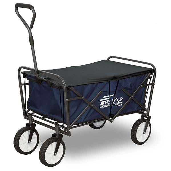 キャリーワゴン キャリーカート 折りたたみ アウトドア キャンプ 耐荷重150kg おしゃれ 簡単 持ち運び 軽量 頑丈 ビーチ 海 レジャー ライト FIELDOOR 送料無料 l-design 07