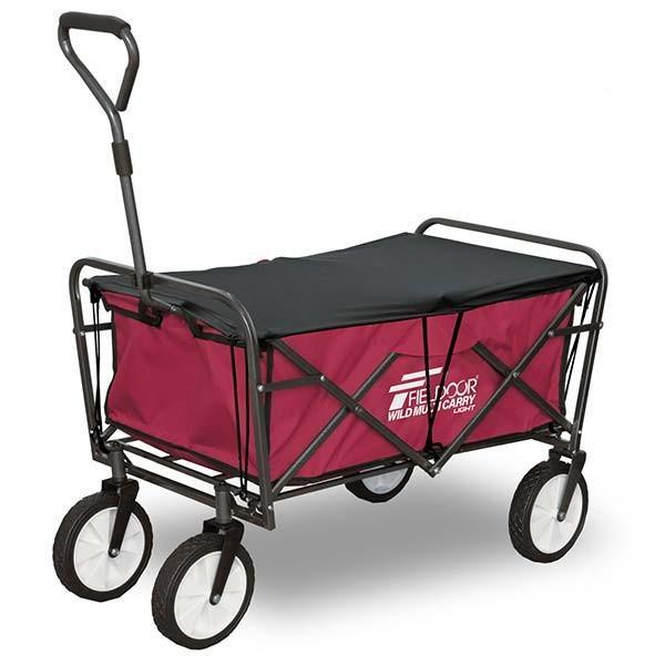 キャリーワゴン キャリーカート 折りたたみ アウトドア キャンプ 耐荷重150kg おしゃれ 簡単 持ち運び 軽量 頑丈 ビーチ 海 レジャー ライト FIELDOOR 送料無料 l-design 11