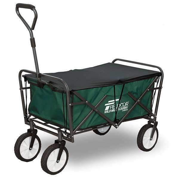 キャリーワゴン キャリーカート 折りたたみ アウトドア キャンプ 耐荷重150kg おしゃれ 簡単 持ち運び 軽量 頑丈 ビーチ 海 レジャー ライト FIELDOOR 送料無料 l-design 13