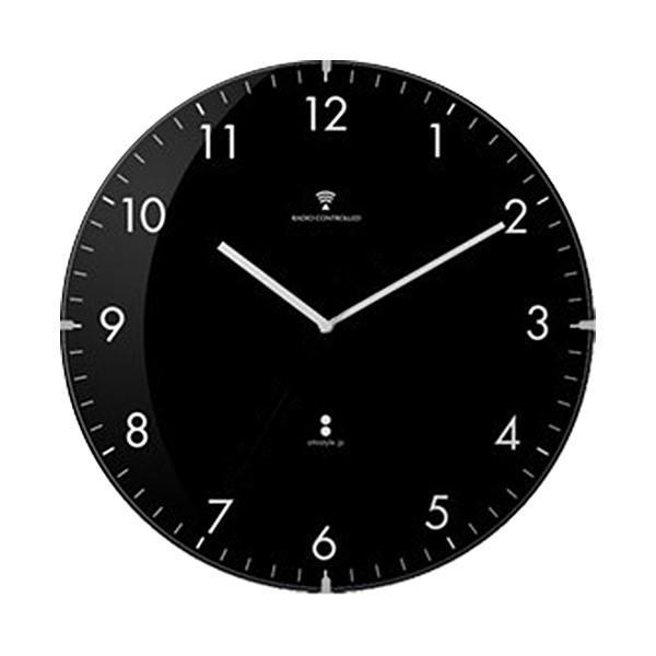 掛け時計 掛時計 電波時計 壁掛け 時計 電波 北欧 おしゃれ かわいい 音がしない 静音 アンティーク サイレント クロック 引越し 祝い 新生活 シンプル 送料無料|l-design|06