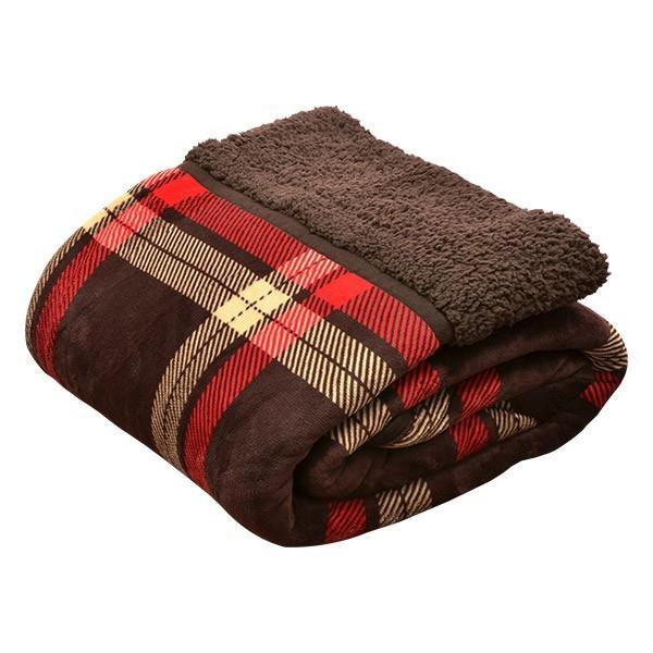 毛布 2枚合わせ毛布 シングル プラス2℃ ぬくぬくボリュームタイプ 発熱繊維 ヒートウォーム マイクロファイバー毛布 厚手 静電気防止 シープタッチ 送料無料 l-design 08