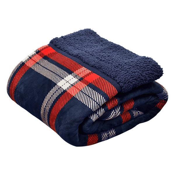 毛布 2枚合わせ毛布 シングル プラス2℃ ぬくぬくボリュームタイプ 発熱繊維 ヒートウォーム マイクロファイバー毛布 厚手 静電気防止 シープタッチ 送料無料 l-design 10