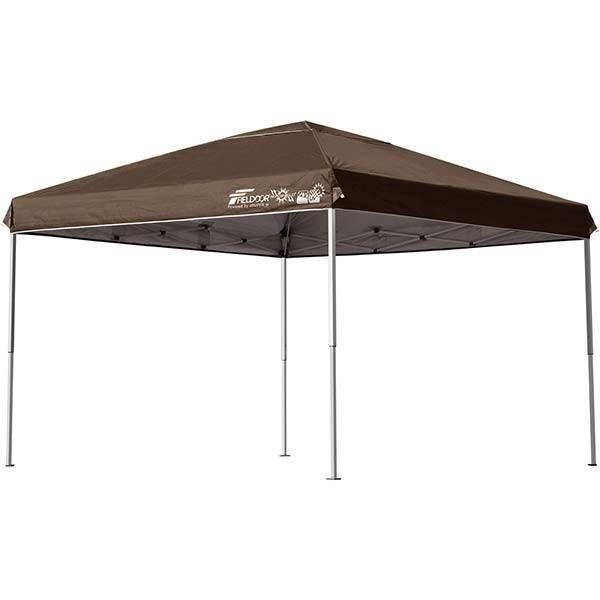 テント タープ タープテント 3m ワンタッチ 日よけ イベント アウトドア バーベキュー キャンプ 海 UVカット 防水 スチール おしゃれ 大型 FIELDOOR 送料無料|l-design|09