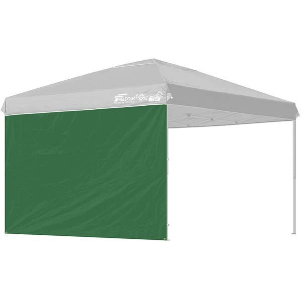 タープ テント タープテント用 サイドシート ウォールタイプ 横幕 3m 300 日よけ シェード オプション 仕切り 3.0m FIELDOOR 送料無料|l-design|06