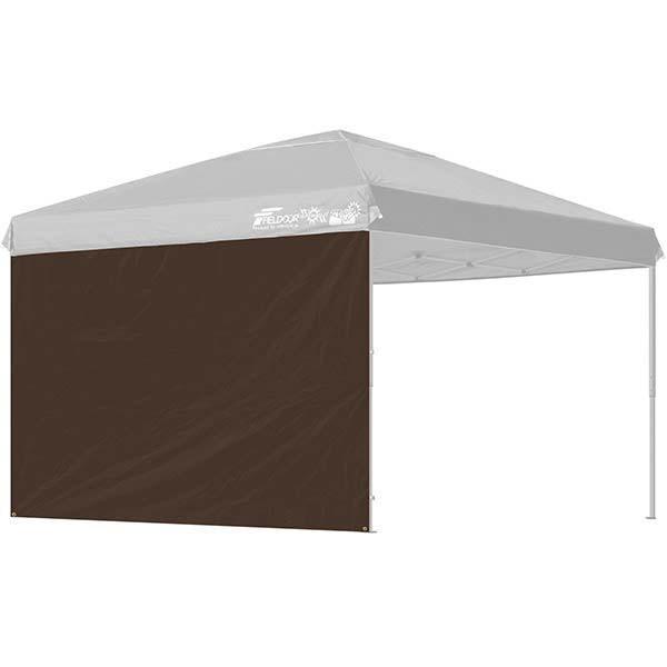 タープ テント タープテント用 サイドシート ウォールタイプ 横幕 3m 300 日よけ シェード オプション 仕切り 3.0m FIELDOOR 送料無料|l-design|09