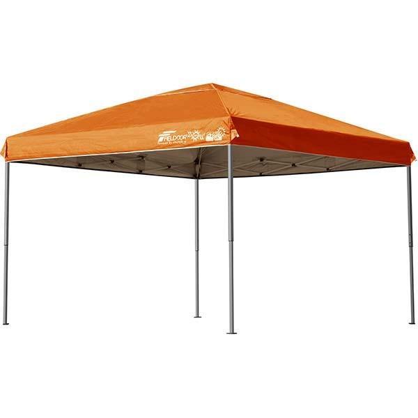 テント タープ タープテント 3m ワンタッチ ワンタッチテント ワンタッチタープ 軽量 アルミ 日よけ イベント アウトドア バーベキュー FIELDOOR 送料無料|l-design|08