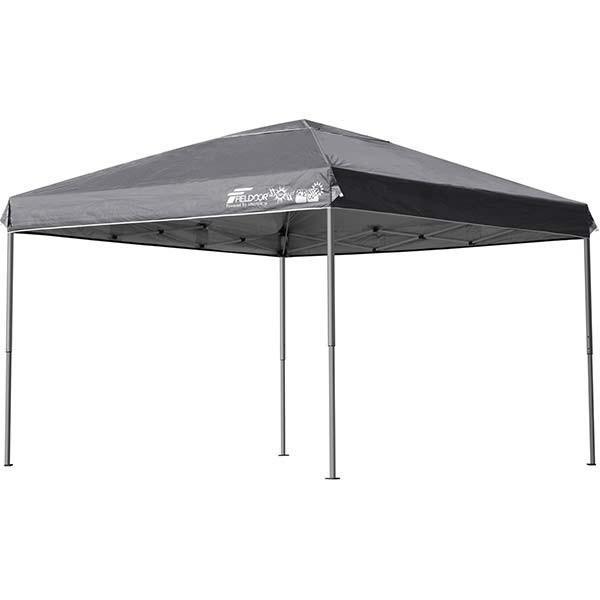 テント タープ タープテント 3m ワンタッチ ワンタッチテント ワンタッチタープ 軽量 アルミ 日よけ イベント アウトドア バーベキュー FIELDOOR 送料無料|l-design|10