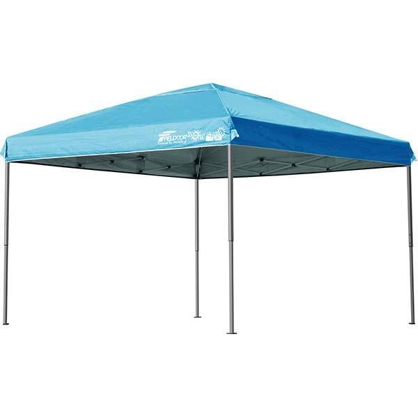 テント タープ タープテント 3m ワンタッチ ワンタッチテント ワンタッチタープ 軽量 アルミ 日よけ イベント アウトドア バーベキュー FIELDOOR 送料無料|l-design|11