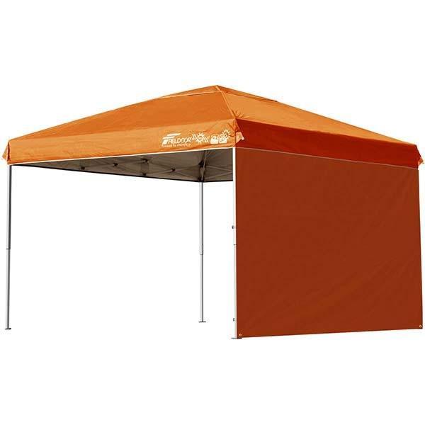 テント タープ タープテント 3m ワンタッチ ワンタッチテント ワンタッチタープ 日よけ イベント アウトドア サイドシートセット FIELDOOR 送料無料|l-design|09
